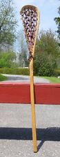 VINTAGE Wooden LACROSSE LAX STICK PERFECT Must See!!