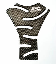 Suzuki GSX-R Authentic Carbon Fiber chrome logo Tank Protector Pad Sticker trim