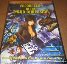 IMAX - Encounter in the Third Dimension (DVD, 2001, 3-D and 2-D Verions)*NEW ***
