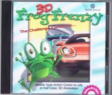 3D Frog Frenzy (PC, 1999) Free USA Shipping!