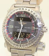 MINT 1999 Titanium Breitling Emergency E56121 - Just Serviced by Breitling 1116