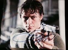 JAMES MCAVOY SIGNED AUTOGRAPH CLASSIC WANTED SCENE INTENSE GUN 8X10 PHOTO COA