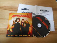 CD Metal Airbourne - No Way But The Hard Way (1 Song) Promo ROADRUNNER cb Pressk