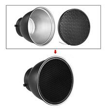 "7""Reflector Diffuser Lamp Shade Dish Honeycomb Grid for Studio Strobe Flash H0E3"
