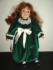 "HEIDI OTT'S FAITHFUL FRIENDS DOLL MAGGIE 19"" - ORIGINAL OUTFIT NO HAT"