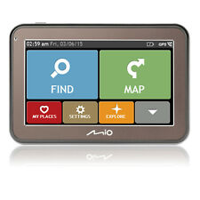 "Mio Spirit 5100 4.3"" Full European GPS Sat Nav 44 Country Mapping IQ Routes"