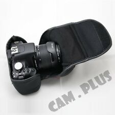 Camera Pouch Soft Case For Canon EOS 70D 18-135mm 18-200mm Lens