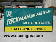 RICKMAN METISSE MOTORCYCLE  DEALER SIGN PARTS  EC0127