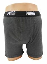 PUMA Boxer Brief men's underwear, Grey BOXERS SIZE SMALL 28-30""