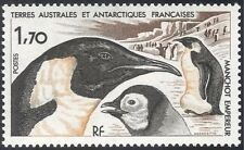 FSAT/TAAF 1985 Emperor Penguins/Birds/Nature/Wildlife/Conservation 1v (n42933)