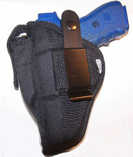 "Pro-Tech Gun Holster with Mag Pouch fits Astra A75 w 3.47"" brl 