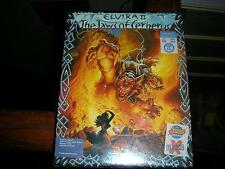 Nouveau ELVIRA 2 THE JAWS OF CERBERUS ATARI ST grosse boîte 1991 * factory sealed ** v.rare *