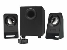 Logitech MultimediaSpeakersZ213(2.1Stereo Subwoofer) Black [980-000941]  CSK