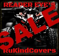 "Yamaha Raptor 660 NEW REAPER Eyes Head Light Covers ""ORIGINAL RUKIND COVERS"""