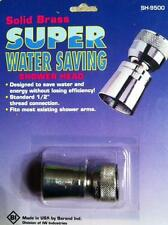 PLUMBING SOLID BRASS SUPER WATER SAVING MINI SHOWER HEAD MADE IN USA