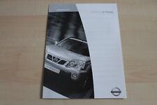 97349) Nissan X-Trail - Preise & tech. Daten & Ausstattungen - Prospekt 04/2003