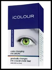 iColour iColor Eye Drops Change Colour Instead of Contact Lenses Bright Green UK