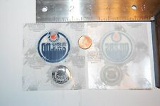"Edmonton Oilers 2"" Lextra Patch 1986-1996 Primary Logo Hockey"