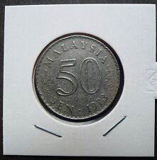 MALAYSIA 1973 PARLIMEN 50 CENTS COIN