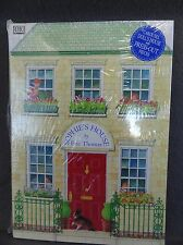 Sophie's House by Eric Thomas Pop-Up Carousel Doll House Paper Book DK NEW