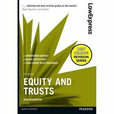John Duddington's Bestselling New Paperback Book Law Express - Equity and Trusts