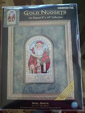 DIMENSIONS GOLD NUGGEST 8x10 NOEL SANTA COUNTED CROSS STITCH KIT FACTORY SEALED