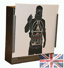 100 Air Rifle Suicide Bomber Police Training Paper Targets 14cm  (100gsm uk made