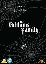THE ADDAMS FAMILY COMPLETE TV SERIES 1-3  NEW 9 DISC UK REG2 BOXSET DVD ADAMS