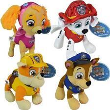 "Paw Patrol 8"" Plush Stuff Toy Set of 4 (Chase, Rubble, Marshall ,Skye) Gift Idea"