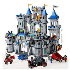 LARGE Lion King's Castle Knight's kingdom 11 Fighters Fortress 1393pcs #1023 L