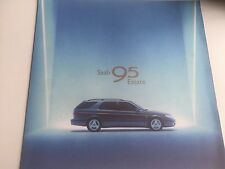 RARE Catalogue brochure  SAAB 95 ESTATE 4 PAGES ANNEE 1998