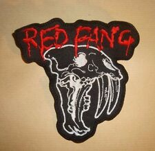 RED FANG - LOGO Embroidered PATCH Kyuss Sleep High on Fire Mastodon Baroness