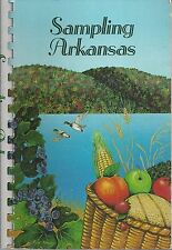 *LITTLE ROCK AR 1983  SAMPLING ARKANSAS COOK BOOK *FRIENDS OF ACS STATE-WIDE