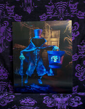 Hatbox Ghost PROTOTYPE changing picture Haunted Mansion Disneyland Disney World