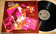 MISSION IMPOSSIBLE ~ MORE ~ UK TV OST SOUNDTRACK LP 1968 ~ LALO SCHIFRIN