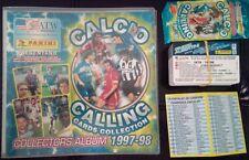 CALCIATORI PANINI ATW - Calcio Calling 1997/98 - ALBUM + SET CPL