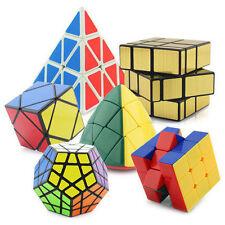 Set of Shengshou 6 Pack Irregular Magic Puzzle Cube Sticker Speed Cube Toy
