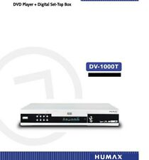 Humax DV 1000T Freeview receiver DVD Combi