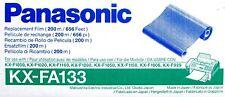 4 GENUINE Panasonic PanaFax FAX Film KX-FA133 KX-FA133A KXF1000 KX-F1100 KX-1150