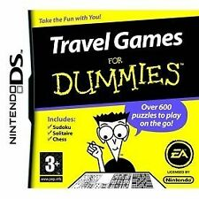 Travel Games For Dummies (Nintendo DS) •SHIPPING •ALWAYS FAST •ALWAYS FREE•