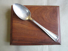 "VINTAGE ""R. Wallace"" A1 Select Natoway Co. Silver Plate Serving Spoon ""Alamo"""