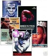 Mike Tyson nouveau jeu de carte postale - 5 cartes programme couvre