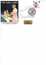 MARGARET THATCHER/NORMAN FOWLER AUTOGRAPHED COVER