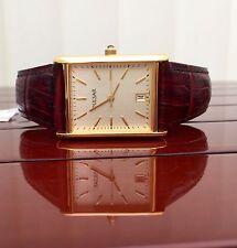 Pulsar Por Seiko Reloj Para Hombre enchapado en oro de Cristal Mineral RRP £ 99 Regalo Ideal (pu24