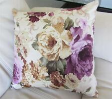 Country Vintage Rose Velvet Cushion Cover Home Decor 45cm