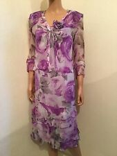 LUIS CIVIT MOTHER OF THE BRIDE DRESS & BOLERO JACKET SUIT SIZE ES 38 UK 8 D 34
