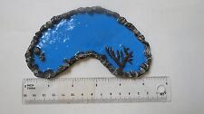 Painted HO/ O Scale resin pond/ lake Kidney shaped -  train/ doll house diorama