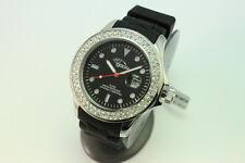 gooix Uhr GX06004097 Damenuhr Kautschuk Datum schwarz Japanwerk UVP 99€ OVP