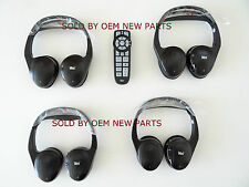 07-13 Routan Chrysler Dodge VES 4 (four) Wireless Headphones w Remote 05091149AA