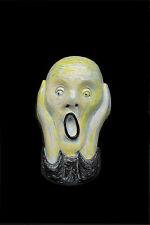 Famous The Scream by Edvard Munch Expressionist 1893 wall sculpture